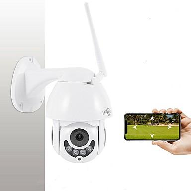 رخيصةأون كاميرات المراقبة IP-Hiseeu 1080 وعاء ptz عموم / الميل التحكم عن ip كاميرا للماء مصغرة سرعة اتجاهين الصوت كشف الحركة قبة كاميرا 2mp اللون للرؤية الليلية h.264 ip cctv الأمن p2p whd712