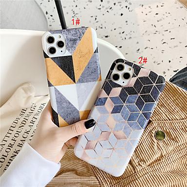Недорогие Кейсы для iPhone 6-чехол для apple iphone 11 / iphone 11 pro / iphone 11 pro max imd / шаблон задняя крышка геометрический рисунок тпу для iphone x xs xr xs max 8 8plus 7 7plus 6 6plus 6s 6s plus