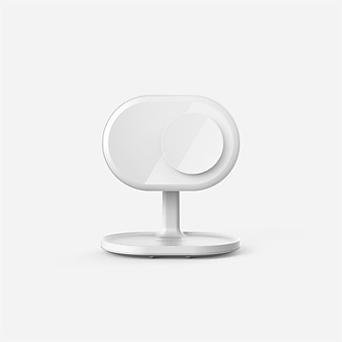 povoljno Punjači za mobitel-momax led zrcalo bežično punjivo beauty lampica ogledalo 10 w bežični punjač usb punjač eu plug bežični punjač za huawei / apple
