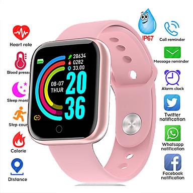 رخيصةأون ساعات ذكية-s68 smartwatch bt البدنية تعقب دعم دعم إعلام / معدل ضربات القلب / قياس ضغط الدم للهواتف أبل / سامسونج / الروبوت