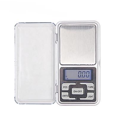 Monkeyjack 0.01g-200g gram mini digitalna LCD ravnoteža težina džepni nakit dijamantna ljestvica