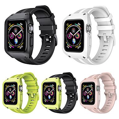 tanie Opaski do Apple Watch-Pasek do zegarka do Apple Watch Series 5/4/3/2/1 Silikonowy pasek na nadgarstek Apple Classic