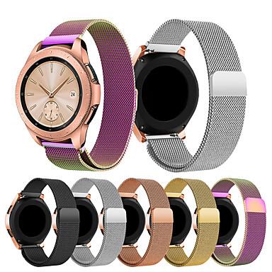 Недорогие Часы для Samsung-smartwatch band для samsung galaxy 42 / активный / активный2 / gear s2 / s2 classic / sport ремешок из нержавеющей стали ремешок из нержавеющей стали ремешок из нержавеющей стали 20мм