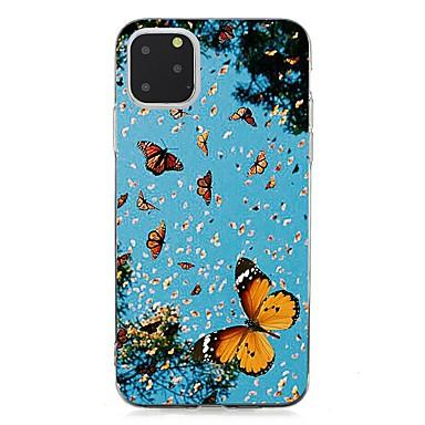 Недорогие Кейсы для iPhone 7-чехол для apple iphone 11 / iphone 11 pro / iphone 11 pro max ультратонкая задняя крышка бабочка тпу для iphone xs max / xs / xr / x / 7/8 plus / 6s plus / 5 / 5s / se