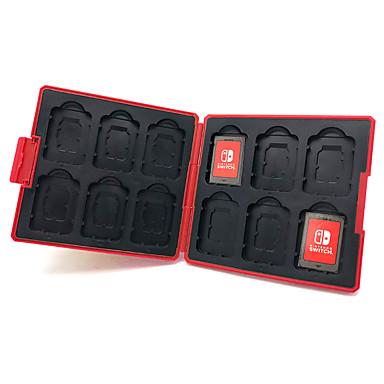 switch lite Cutie de depozitare a cardurilor Pentru Comutați lite . Model nou Cutie de depozitare a cardurilor EVA 1 pcs unitate