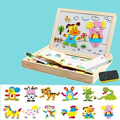 olcso Fejtörők-Játék rajzolása Játék rajztáblák Fejtörő Klasszikus téma Mágneses Szülő-gyermek interakció Fa Fiú Lány Játékok Ajándék