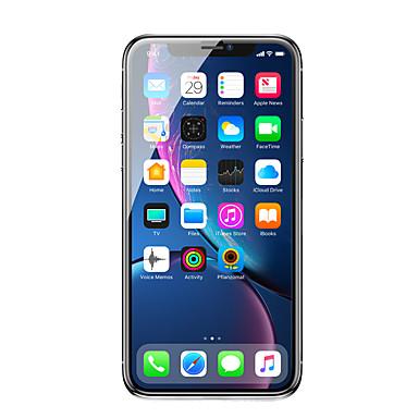 baratos Protetores de Tela para iPhone-Protetor de tela de vidro temperado de tela curvada baseus 0,23 mm com bordas resistentes a rachaduras e função anti-spy para ip 6.1 (2018) preto