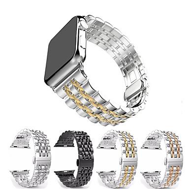 Недорогие Аксессуары для смарт-часов-Металлический ремешок из нержавеющей стали для Apple Watch серии 5/4/3/2/1 сменный браслет ремешок на запястье браслет 38 / 40мм 42 / 44мм