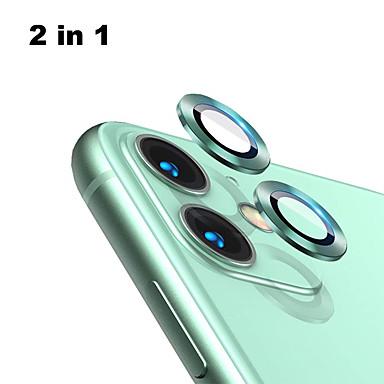 voordelige iPhone screenprotectors-achterkant aluminiumlegering gehard glazen lensbeschermer voor iPhone 11