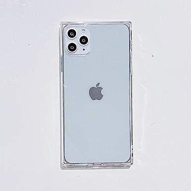 Недорогие Кейсы для iPhone X-случай для яблочного сцены карты Iphone 11 11 про 11 про макс х хз хз хт макс 8 сплошной цвет квадрата четыре точки падения устойчивых TPU материала все включено мобильный телефон случае