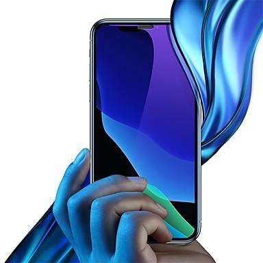 Недорогие Защитные плёнки для экрана iPhone-Защитная пленка для экрана из закаленного стекла с защитой от синего света baseus (защита от пыли) для ipx / xs 5.8 дюймов черный
