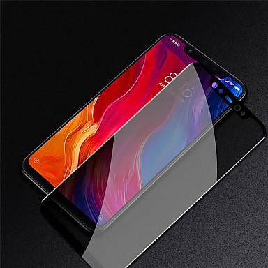 Недорогие Защитные плёнки для экранов Xiaomi-защитная пленка для экрана xiaomi 8 / 8se / 6 / play с антишпионским закаленным стеклом 1 передняя защитная пленка для ПК с высоким разрешением (hd) / твердость 9 ч