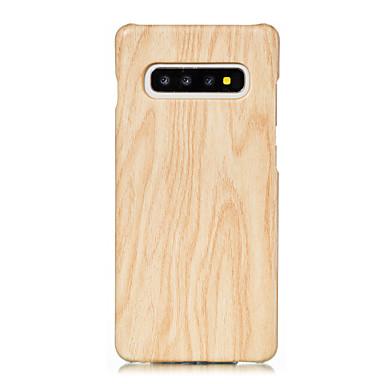 povoljno Maske/futrole za Galaxy S seriju-Θήκη Za Samsung Galaxy S8 Plus / S8 / S7 edge Uzorak Stražnja maska Uzorak drva PU koža / PC