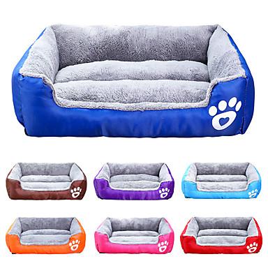 זול אספקה וטיפוח-חתול כלב משטח למזרן מיטות שמיכות מיטה אחיד עמיד למים חמוד בד כותנה