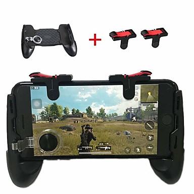 olcso Okostelefon-játék tartozékok-mobil játékvezérlő érzékeny lövési célgombok l1r1 játékindítók pub-okhoz / kések ki / szabályok túlélési támogatások 4,7-6,4 hüvelyk
