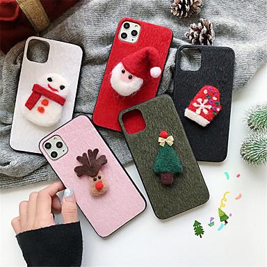 Недорогие Кейсы для iPhone X-чехол для яблока iphone 11 / iphone 11 pro / iphone 11 pro max узор задняя крышка рождественский текстиль для iphone 6 6 плюс 6s 6s плюс 7 8 7 плюс 8 плюс x xs xr xs max