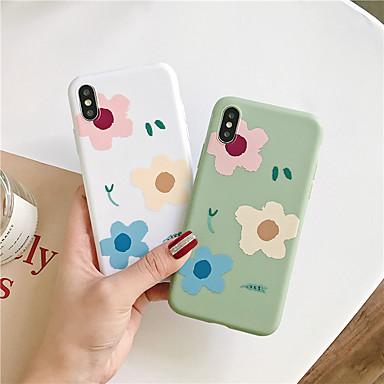 voordelige iPhone 6 hoesjes-hoesje Voor Apple iPhone 11 / iPhone 11 Pro / iPhone 11 Pro Max Patroon Achterkant Bloem TPU