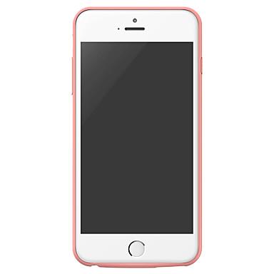 baseus geruite rugzak power bank case 3650 mah voor iphone6 / 6s plus roze