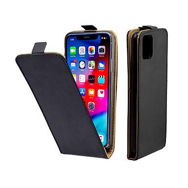 Недорогие Кейсы для iPhone X-Кейс для Назначение Apple iPhone 11 / iPhone 11 Pro / iPhone 11 Pro Max Бумажник для карт / Защита от удара Чехол Однотонный ТПУ