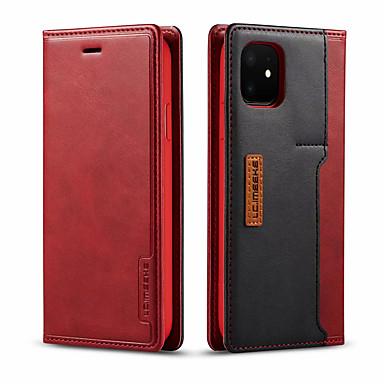 Недорогие Кейсы для iPhone 6 Plus-флип для iphone 11 / 11pro / 11pro max чехол кожаный роскошный кошелек бизнес винтаж обложка книги чехол для iphone x / xs / xr / xs max / 6 / 6plus / 7 / 7plus / 8/8 plus