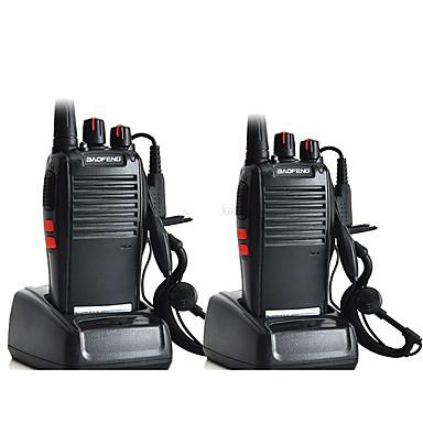 olcso Walkie Talkies-2db eredeti baofeng bf-777s walkie talkie adó-vevő uhf intercom pofung 777s kétirányú rádió kézi cb rádió fülhallgatóval