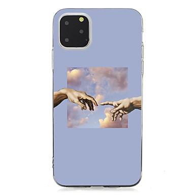 Недорогие Кейсы для iPhone 7 Plus-чехол для apple iphone 11 / iphone 11 pro / iphone 11 pro max ультратонкая задняя крышка с декорацией тпу для iphone xs max / xs / xr / x / 7/8 plus / 6s plus / 5 / 5s / se