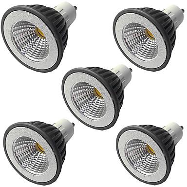 economico LED e illuminazione-5 pezzi 7 W Faretti LED 500 lm GU10 GU10 1 Perline LED COB Oscurabile Bianco caldo Bianco 220-240 V