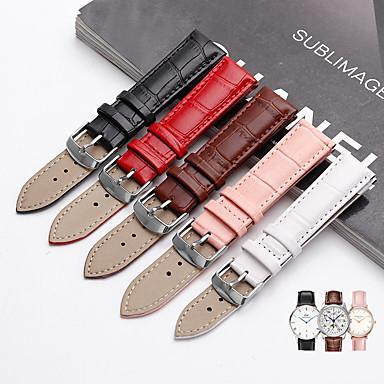 Недорогие Часы для Samsung-smartwatch band для samsung galaxy 42 / активный / активный2 / gear s2 / s2 classic / sport band высококачественный удобный кожаный ремешок из натуральной кожи ремешок на запястье 20 мм