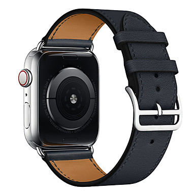 hesapli Apple Watch Kordonları-apple izle serisi için watch band 5/4/3/2/1 apple business band hakiki deri bilek kayışı