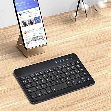cheap iPad Keyboards-Bluetooth Office Keyboard Frosted / For Android OS / iOS / MAC Bluetooth3.0