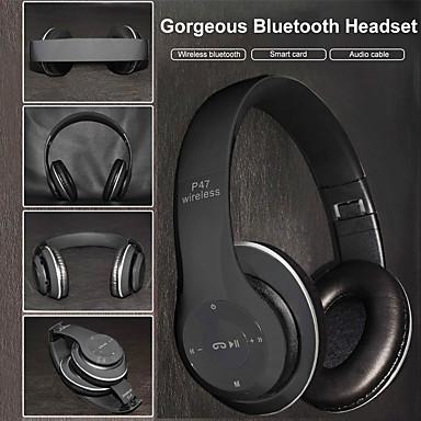povoljno Slušalice (na uho)-LITBest p47 Naglavne slušalice Bez žice Putovanja i zabava Bluetooth 5.0 Isključivanje buke Stereo S kontrolom glasnoće