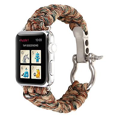 voordelige Apple Watch-bandjes-horlogeband voor Apple Watch-serie 5/4/3/2/1 Apple sportband nylon polsband