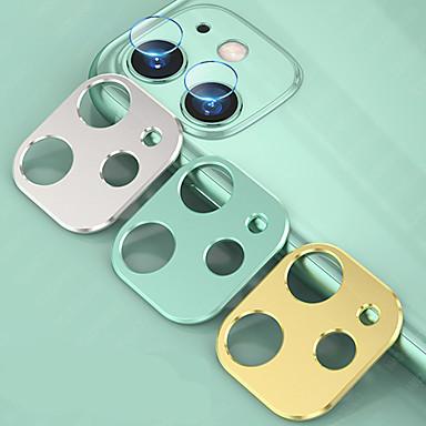 voordelige iPhone screenprotectors-2 in 1 cameralensbeschermerring gehard glas film voor iPhone 11