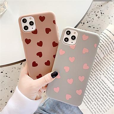 Недорогие Кейсы для iPhone 6 Plus-чехол для яблока iphone 11 / iphone 11 pro / iphone 11 pro max с рисунком задняя крышка плитка / сердце тпу для iphone x xs xr xs max 8 8plus 7 7plus 6 6plus 6s 6s plus