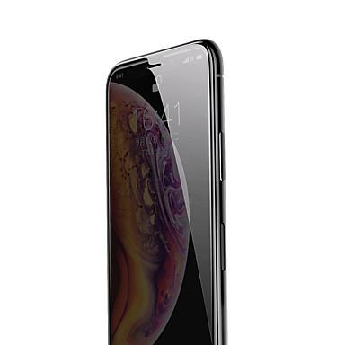 voordelige iPhone screenprotectors-baseus 0.3mm stijve rand anti-spion gebogen scherm screen protector van gehard glas voor IP 6.1 (2018) zwart