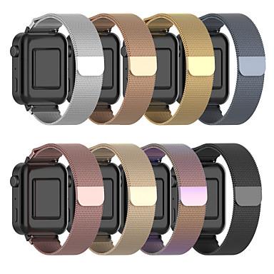 voordelige Horlogebandjes voor Xiaomi-horlogeband voor mi smartwatch xiaomi milanese lus roestvrij stalen polsband
