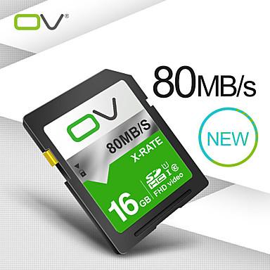 お買い得  メモリカード-ov x-rate c10 u1 16ギガバイト/ 32ギガバイト/ 64ギガバイト/ 128ギガバイトのデジタル一眼レフカメラ写真用メモリカード1080p 30fpsビデオ撮影