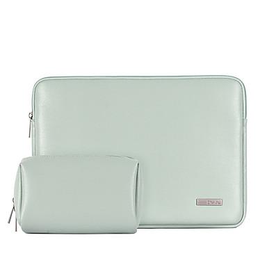 olcso Laptop huzatok-2020 vízálló pu bőr laptop hordtáska MacBook Pro airhez 13 14 15 hüvelykes notebook számítógép pc fedő tasak a Dell hp-hez