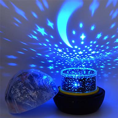 cheap Smart Home-Star Night Lights for Kids Universe Cosmos Starry Sky Light LED Projector Rotating Lamp Nightlight Moon Sea World Decorative