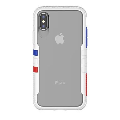 olcso Mobiltelefon tokok-ütésálló hordtáska apple iphone 11 / iphone 11 pro / iphone 11 pro max ütésálló / imd teljes testű tokok átlátszó tpu / pc