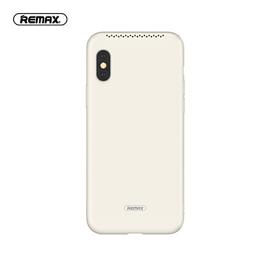 رخيصةأون أغطية أيفون-غطاء من أجل Apple iPhone XS / iPhone XR / iPhone XS Max نحيف جداً غطاء خلفي لون سادة TPU / مطاط