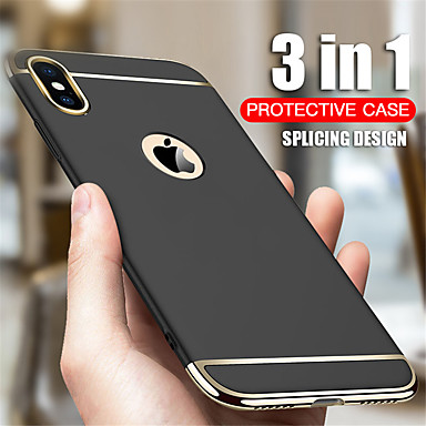 Недорогие Кейсы для iPhone 7 Plus-Кейс для Назначение Apple iPhone 11 / iPhone 11 Pro / iPhone 11 Pro Max Защита от удара / Ультратонкий Чехол Однотонный ПК
