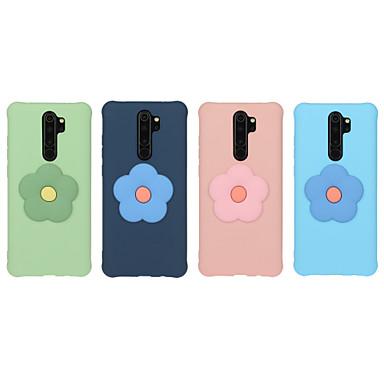 Недорогие Чехлы и кейсы для Xiaomi-Кейс для Назначение Xiaomi Redmi Note 7 / Redmi Note 8 / Redmi Note 8 Pro Матовое / С узором / Своими руками Кейс на заднюю панель Однотонный / Цветы ТПУ