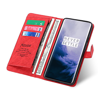 cheap LG Case-Case For LG LG V40 / LG Stylo 4 / LG Stylo 5 Wallet / Card Holder / Shockproof Full Body Cases Solid Colored PU Leather
