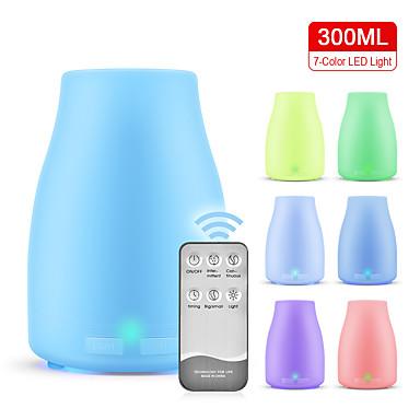 Недорогие Смарт-электроника-увлажнитель для ароматерапии / светодиодная лампа для ароматерапии / аппарат для ароматерапии без увлажнителя с печатью / модель взрыва бутылки для саке 300 мл / для дома / pp white