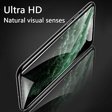 olcso iPhone 8 Plus képernyővédő fóliák-alma képernyővédő telefon 11 nagyfelbontású HD edzett film, alkalmas almához 7 / 8plus teljes képernyős fekete él 9 órás keménység 11 pro mobiltelefon film