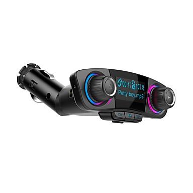 Недорогие Bluetooth гарнитуры для авто-Bt06 Bluetooth V4.0 автомобильный FM-передатчик музыкальный автомобиль mp3-плеер громкой радио адаптер комплект поддержки TF Aux с двумя USB зарядное устройство