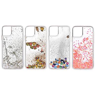 Недорогие Кейсы для iPhone-чехол для apple iphone 11 / iphone 11 pro / iphone 11 pro max ударопрочный / протекающая жидкость задняя крышка прозрачный тпу