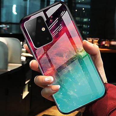 Недорогие Чехлы и кейсы для Galaxy S-Разноцветный телефон из закаленного стекла для Samsung Galaxy S20 S20 Plus S20 Ultra S10 S10E S10 плюс S9 S9 плюс примечание 10 примечание 10 плюс a10 a20 a30 a40 a50 a70 a20e