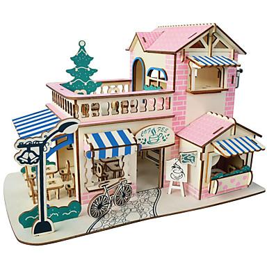 ieftine Rechizite Petrecere-cadou de Crăciun inteligent casa cabana de vis puzzle-uri 3d (38pcs)